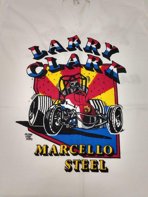Vintage Larry Clark Marcello Steel Racing Team T-S