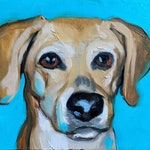 CUSTOM MINI PAWTRAIT, dog portrait, cat portrait, pet portrait, custom pet portrait, pet portrait, oil painting, pet painting, mini