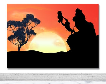 Lion King Backdrop Etsy
