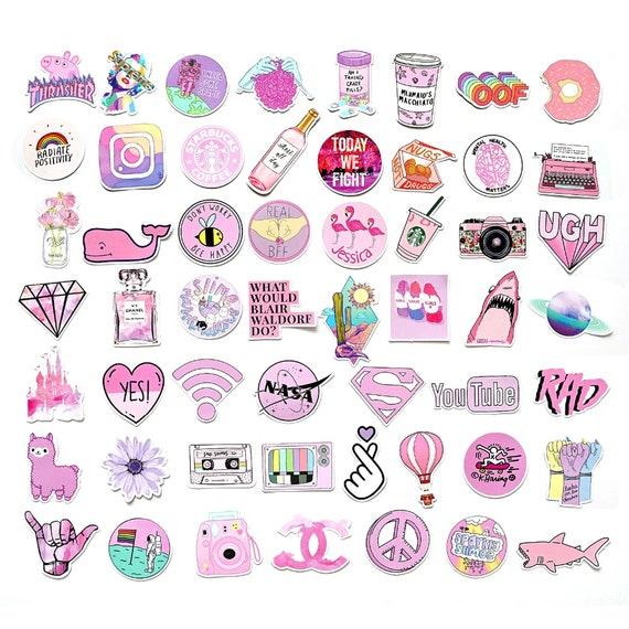 Vsco Girl Stickers Pink