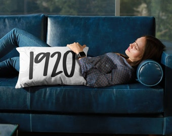 1920™ Feminist Pillow | Premium High Quality Washable Case AND Insert | Feminism Gift | Girl Power Women's Rights | The Matriarchy Matters™