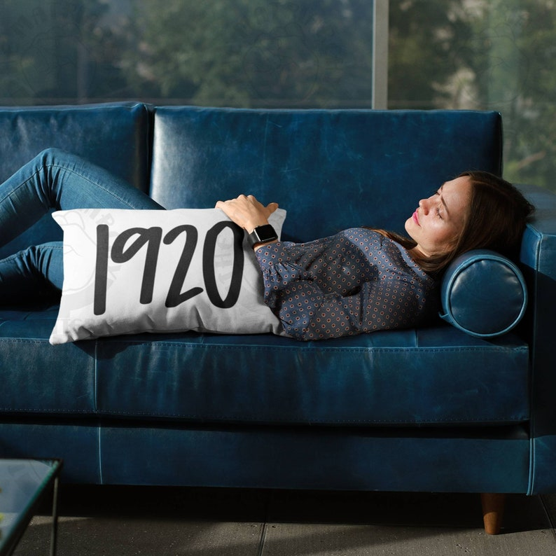 1920™ Feminist Pillow  Premium High Quality Washable Case AND image 0