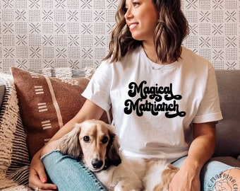 Magical Matriarch Women's Convention Women's March Womens Rights Feminist Tee Shirts Womens Tees Womens T-shirts The Matriarchy Matters™