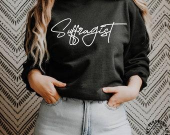 Suffragist Women's Rights Crewneck Sweatshirt Women's Long Sleeve Sweat Shirt Gift Ideas For Feminists Feminism Gift The Matriarchy Matters™