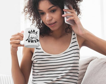 Girl Power Coffee Mug Feminist Mug Women's Rights Coffee Cup Womens Empowerment Gift Feminism Cup Woman Equality Mug The Matriarchy Matters™