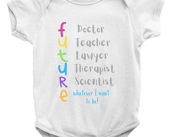 Sold Separately The Future Onesies W Matching Bib