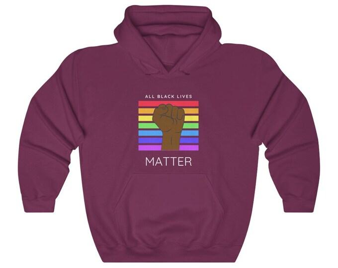 All Black Lives Matter Unisex Heavy Blend Hooded Sweatshirt
