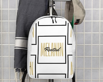 Minimalist Rooted Box Backpack