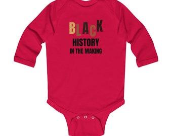 Black History in the Making Infant Long Sleeve Bodysuit