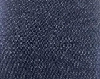 """Washed Denim Fabric - 100% Cotton - 6 Oz (Thin & Lightweight) - Sold by the Yard - 60"""" Wide"""
