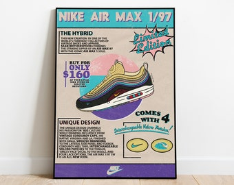 poster chaussure nike