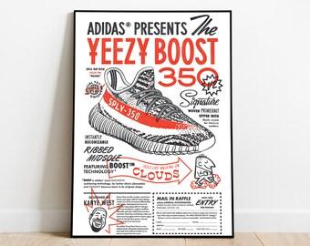 Adidas Poster Etsy
