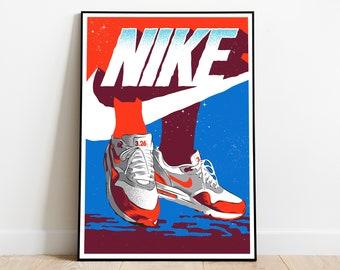 Nike Air Max Poster | Etsy