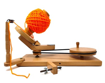 Yarn Ball Winder | Center Pull Ball Yarn Winder | For Heavy Duty Large Knitter's Gifts  FREE SHIPPING