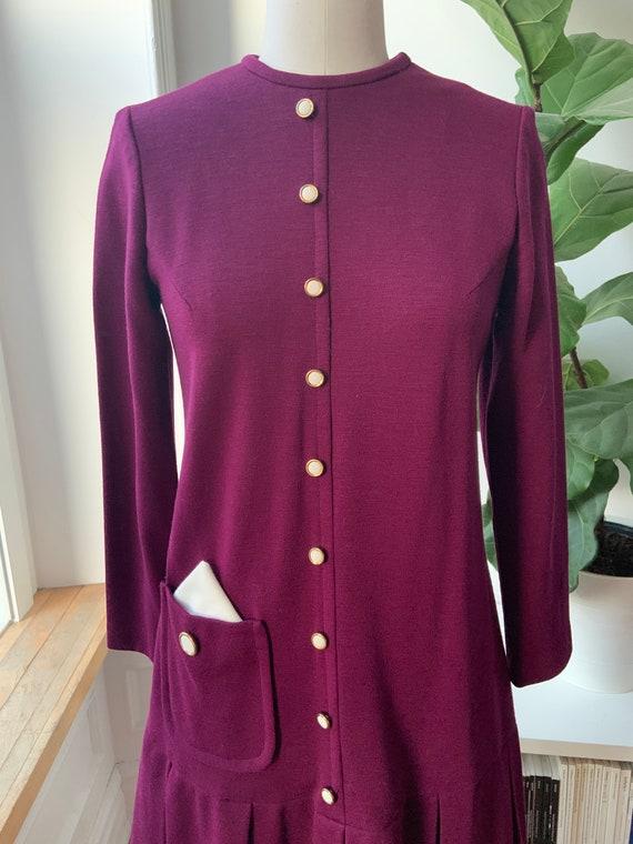 1960s Mod Mini Dress - image 4