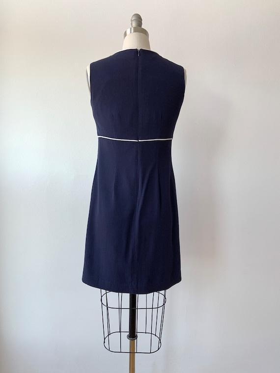 90s Does 60s Mod Mini Dress - image 3