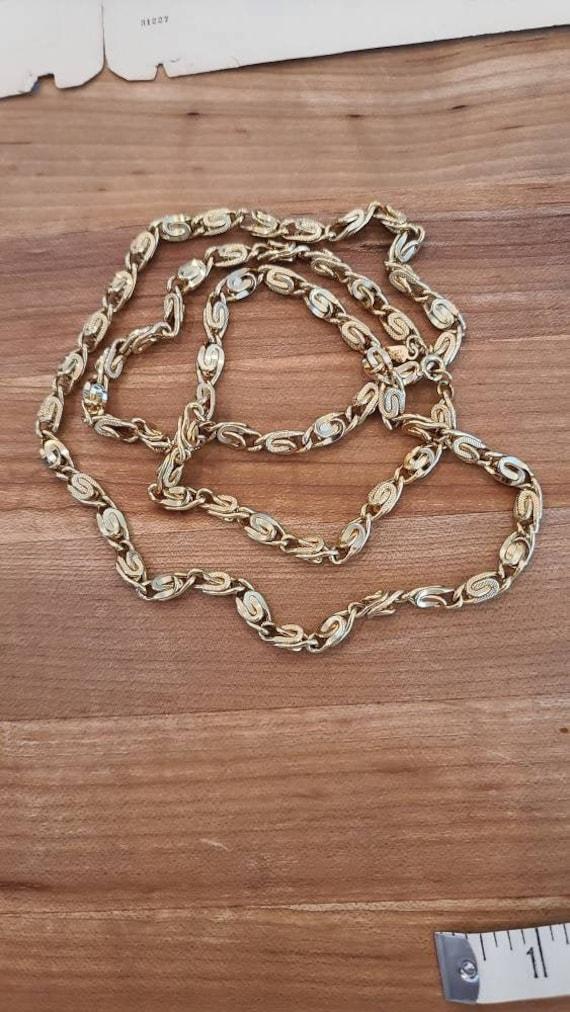 Long Chunky Hattie Carnegie Chain Necklace