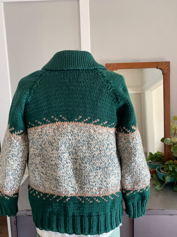 Vintage, hand knit sweater.