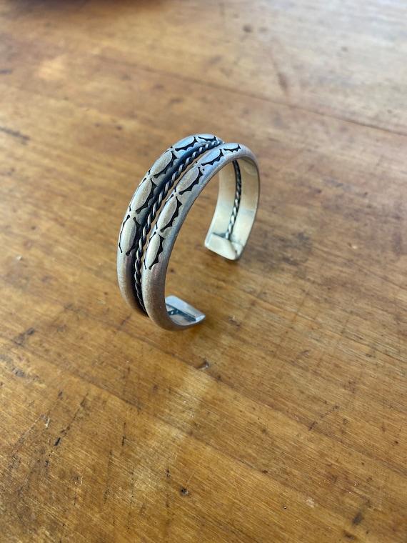 Old Pawn Stamp Bracelet