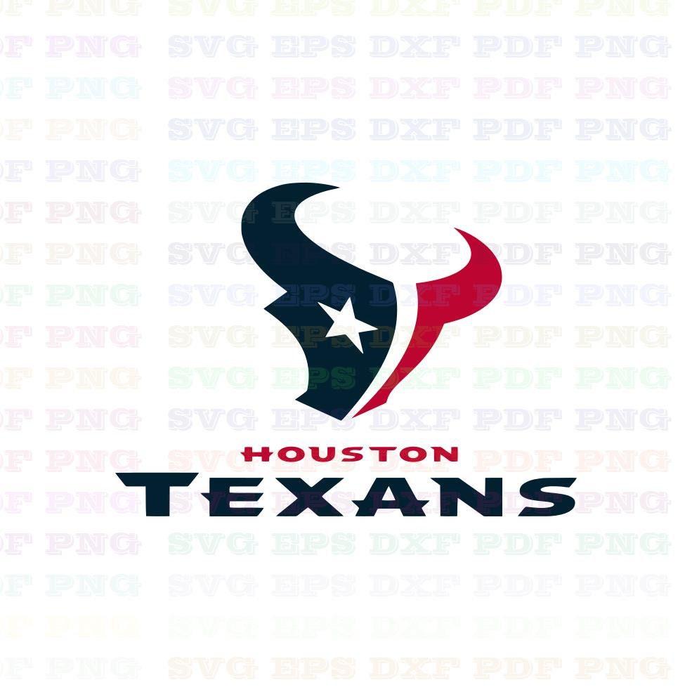 Houston Svg And Cut File Cutouts Files Logo Stencil Silhouette Etsy