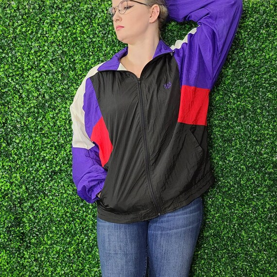 Vintage Colorblock Olympics JC Penney Nylon Windbr