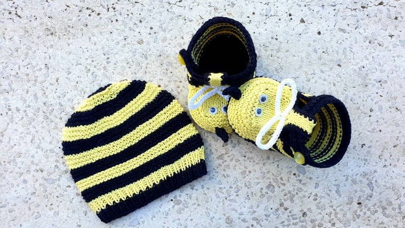 photo props baby shower gift gender neutral. Bumble bee hat