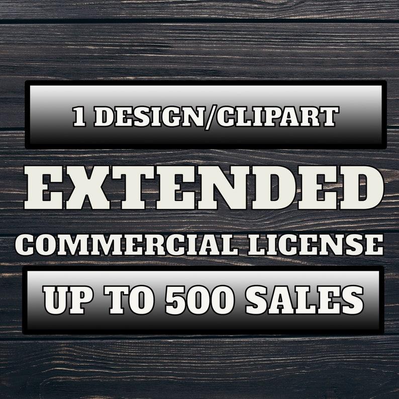 Commercial Extended 1 Item License  Sublimation  Instant download  300DPI  PNG