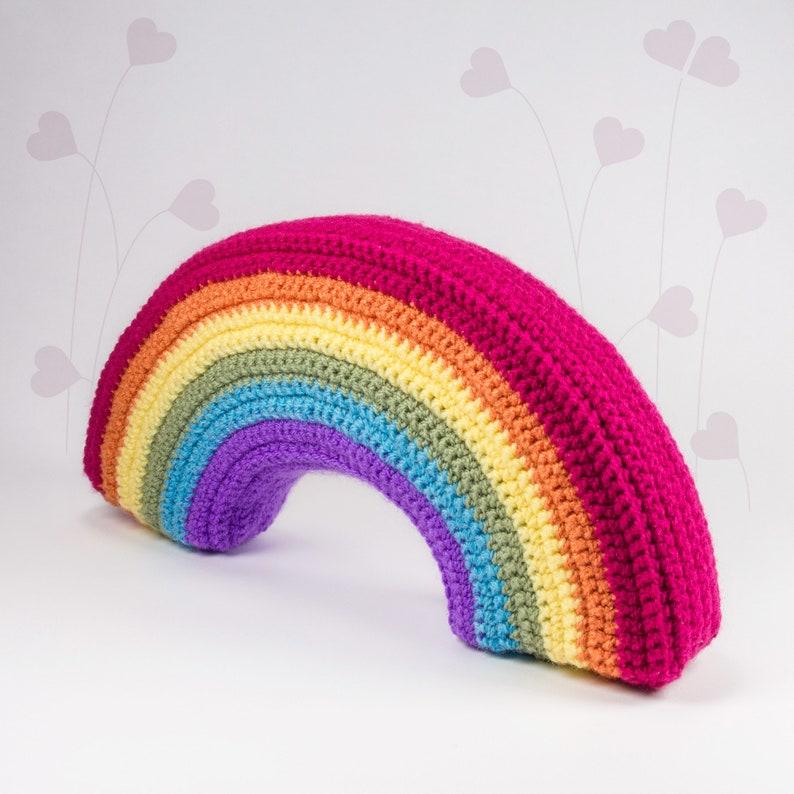 3D Rainbow crochet pattern   PDF  LuckyTwins image 0