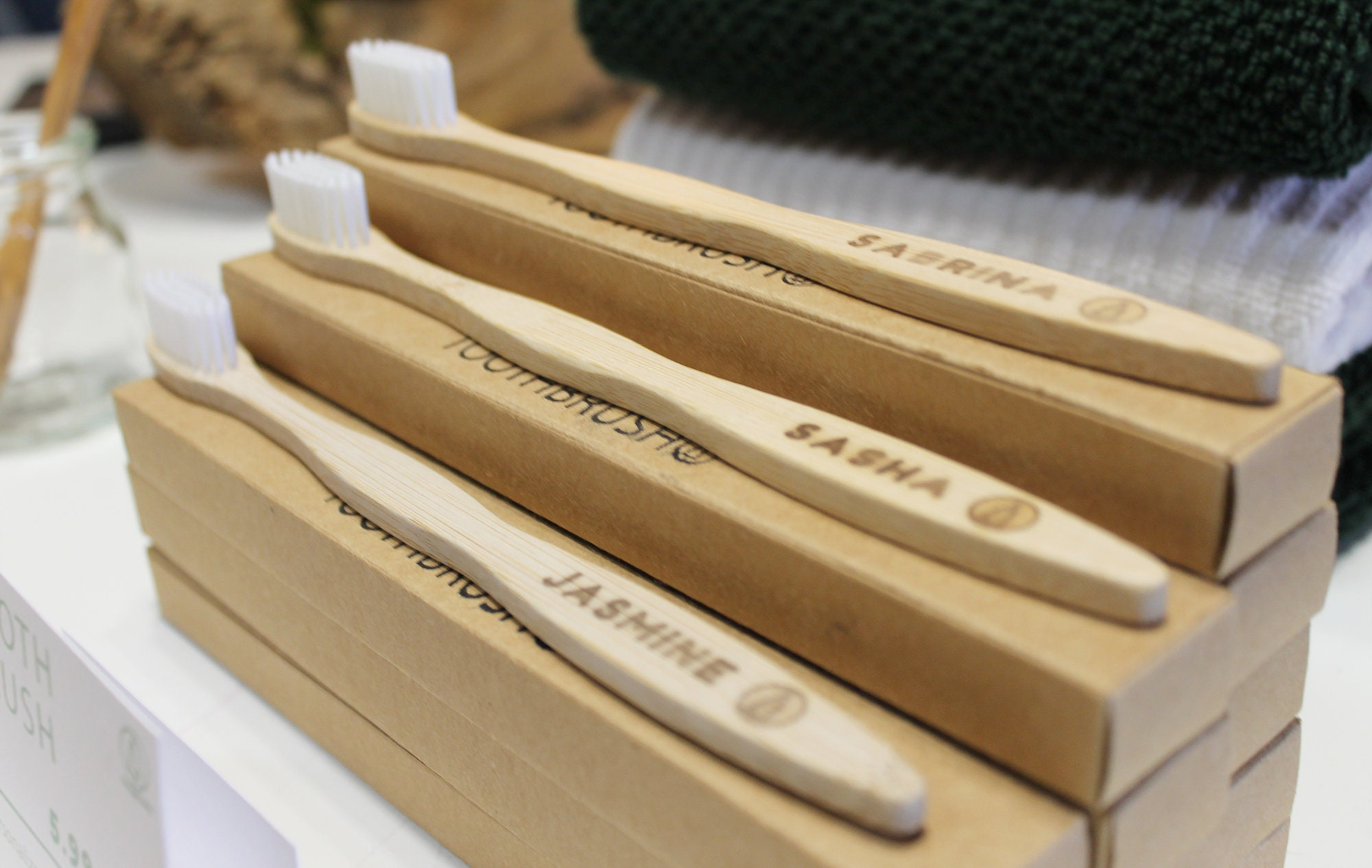 Personalized Bamboo Toothbrush Free Shipping In Canada image 2