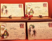 French Christmas Postcard Replicas