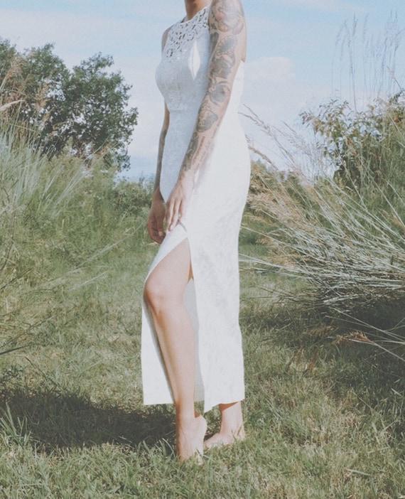 Vintage White Scott McClintock Dress