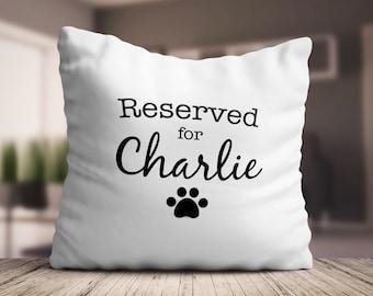 Dog print pillow | Etsy