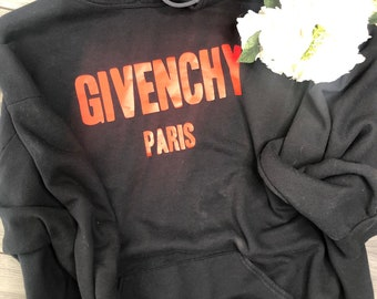 7d8d15b1e Unisex Mens or Womens Inspired Vintage Gi venchy Personalized, Custom Quote  Hoodie in all colors S-3XL 4XL 5XL