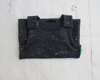 Romper Stardust on Dark Blue, Jumper, Unisex, Newborn, Baby