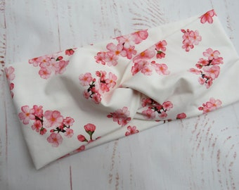 Headband cherry blossoms, suitable from baby to mom