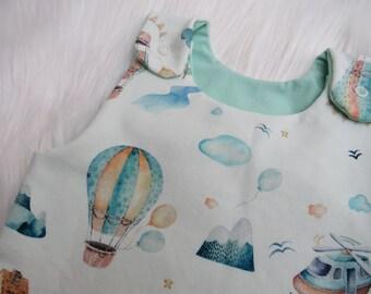 Romper Balloon Ride, Jumper, Unisex, Newborn, Baby
