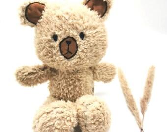 Stuffed animal bear - fluffy cuddly toy for birthday (plush toy)
