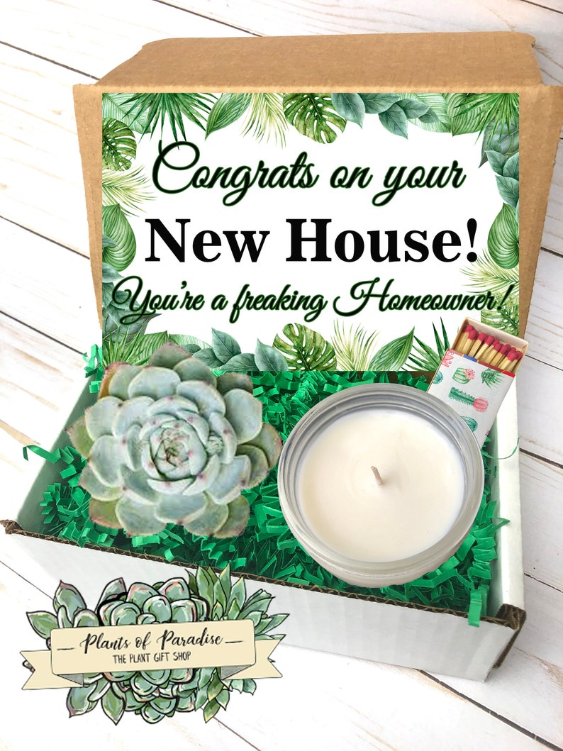 Housewarming Gift New Home Gift Congrats New Home Send a image 0