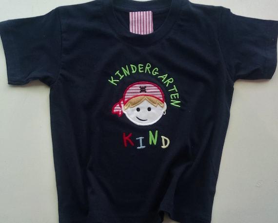 Cute Nursery Child T Shirt Pirate