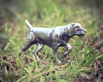 DRAHTHAAR Pin German Wirehaired Pointer Badge Drahthaar Brooch WildlifeCollectio Hunting Dogs Badges Hunting Badges