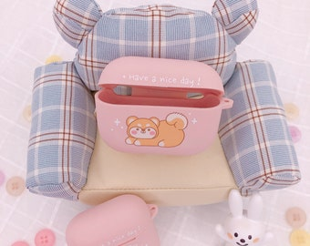 Kawaii Airpod Case For Apple Airpods Generation1 2 Bunny Etsy