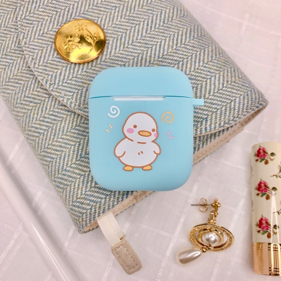 Kawaii Airpod Case For Apple Airpods Generation1 2 Ducky Etsy