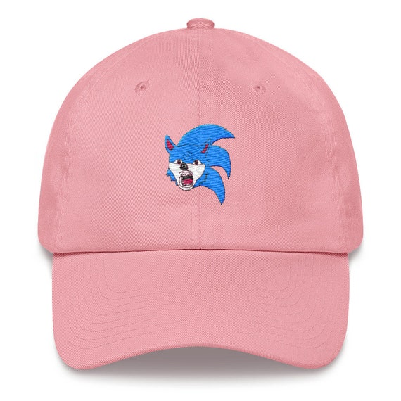 Ugly Sonic Dad Hat Etsy