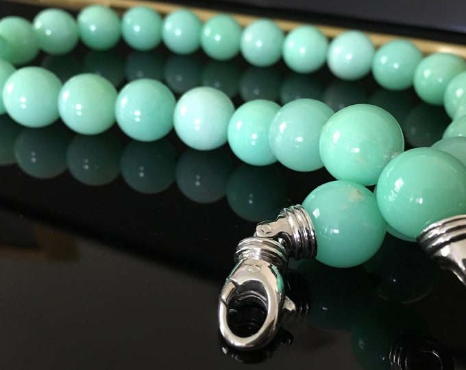 Natural Chrysoprase necklace