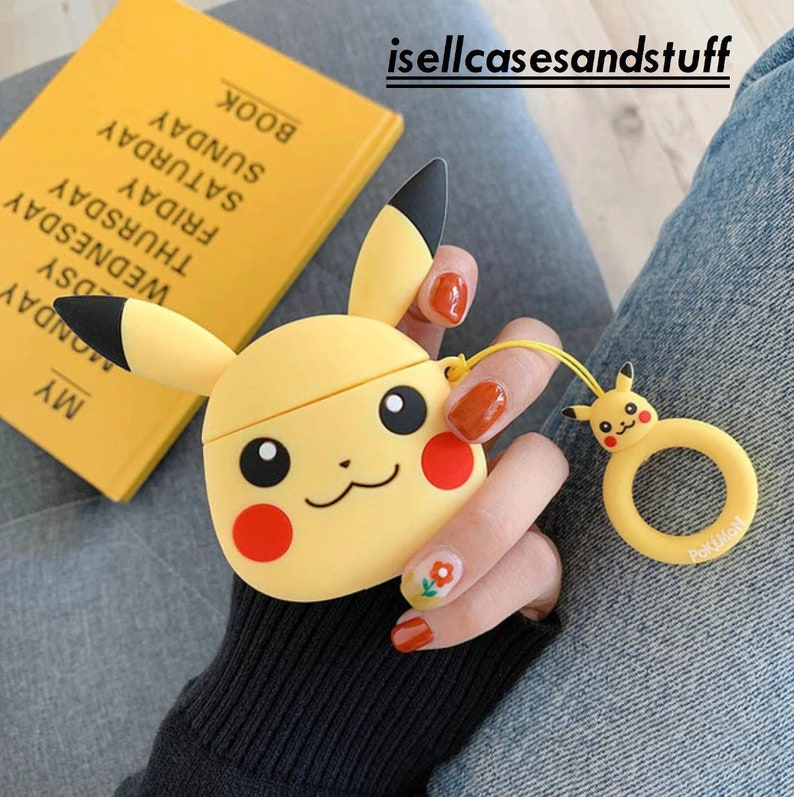 Pokemon Pikachu Airpod Charging Case
