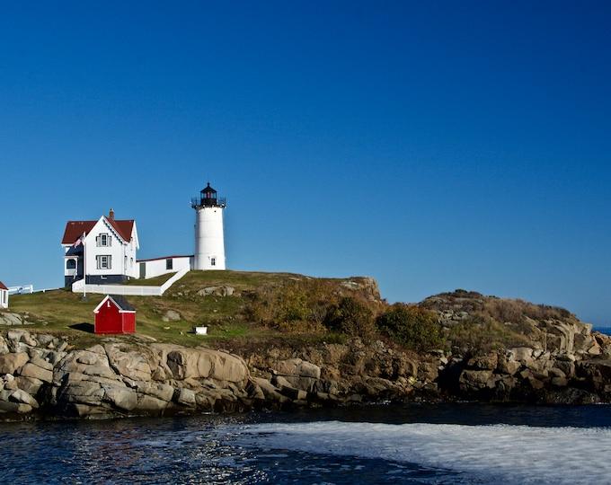 Lighthouse Photo Print - Nubble Light