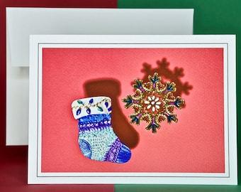 Christmas Holiday Card SAVE! - Buy MORE and SAVE - Spotlight on Holiday Pins