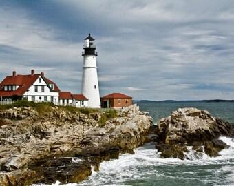 Portland Head Light - Cape Elizabeth, Maine - Photo Image