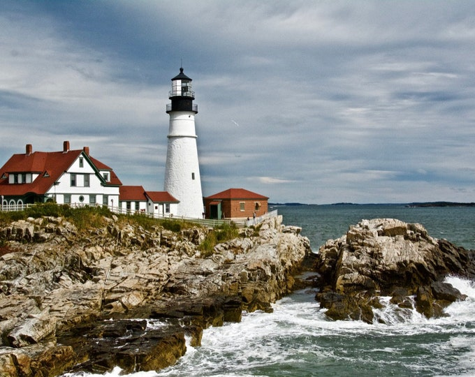 Portland Head Light - Cape Elizabeth, Maine - Photo Image