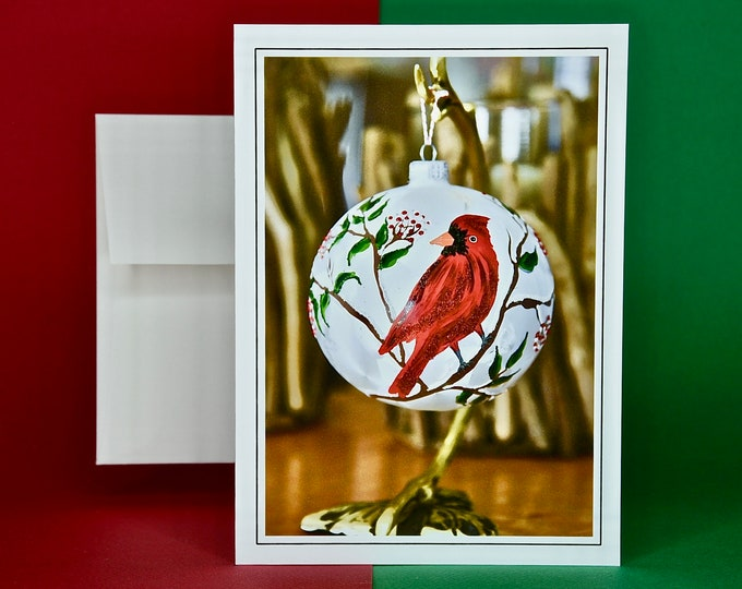 Christmas Holiday Card SAVE! - Buy MORE and SAVE - Winter Cardinal